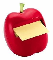 ポストイット ポップアップノート デザインディスペンサー アップル